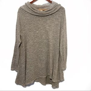 Linnea Cowl Neck Swing Sweater Size Medium